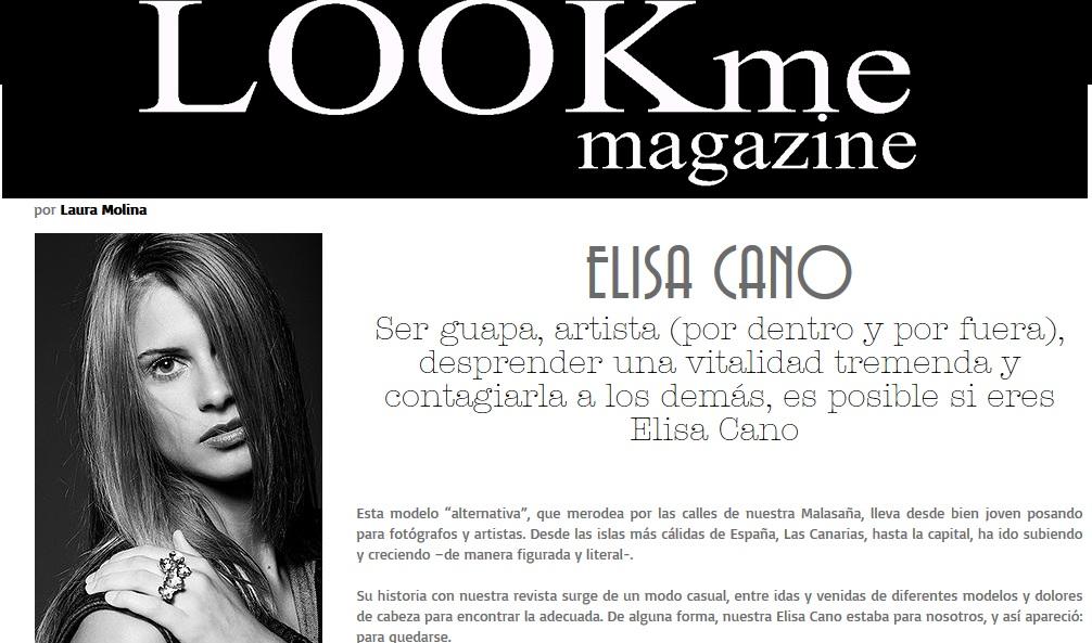 Entrevista en LookMe Magazine
